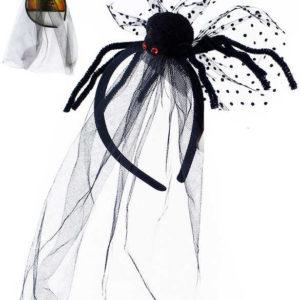 KARNEVAL Čelenka s pavoukem dospělá *KARNEVALOVÝ DOPLNĚK*