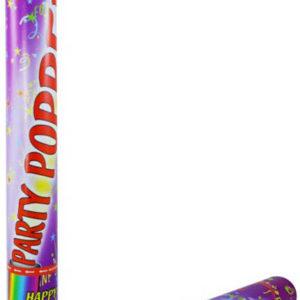 Konfety barevné v tubě party vystřelovací dekorace