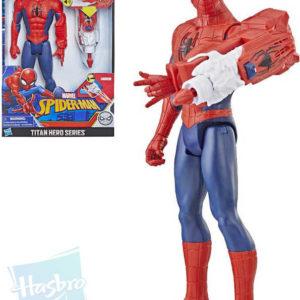 HASBRO Figurka kloubová Spiderman 30cm set s funkčním projektilem na baterie Zvuk