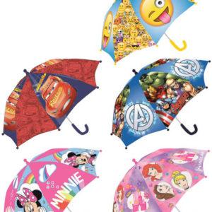 Deštník dětský Disney / emotikony 65x55cm různé motivy
