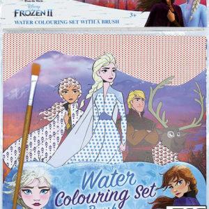 JIRI MODELS Omalovánky vodové se štětcem Frozen 2 (Ledové Království)