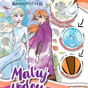 JIRI MODELS Maluj vodou Frozen 2 (Ledové Království) omalovánky