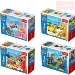 TREFL PUZZLE Mini Maxi Tlapková Patrola 20 dílků různé druhy skládačka v krabičce