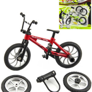 Kolo prstové šroubovací 10cm set bike s nástrojem a doplňky k sestavení na kartě