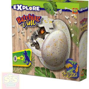 SES CREATIVE Líhnutí dinosaura ve vodě herní set dinosauří vejce s překvapením