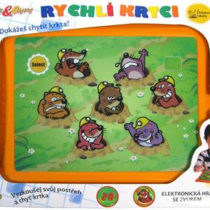 Hra elektronická Plácni Krtka Na tabletu Dětský Tablet