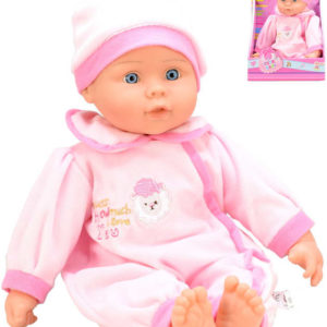 Panenka miminko v oblečku 30cm 2 barvy plast