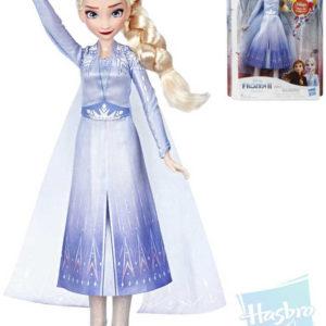 HASBRO Panenka Elza zpívající 26cm Frozen 2 (Ledové Království) na baterie Zvuk