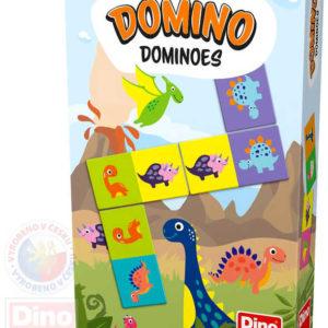 DINO Domino dinosauři *SPOLEČENSKÉ HRY*