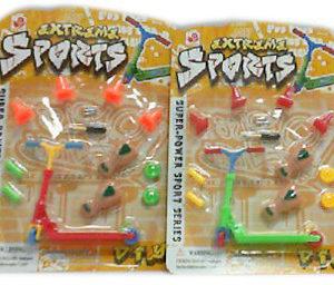 Koloběžka freestyle prstová set s nástrojem a doplňky různé barvy