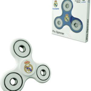 HRA Fidget Spinner Real Madrid 7cm točítko antistresové 2 barvy plast v krabičce
