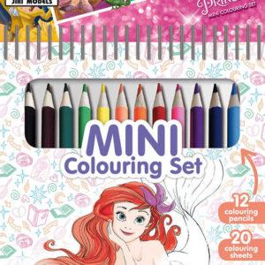 JIRI MODELS Set mini blok + pastelky Disney Princezny