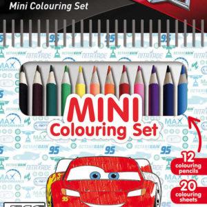 JIRI MODELS Set mini blok + pastelky Auta (Cars)