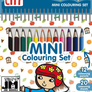 JIRI MODELS Set mini blok + pastelky Město