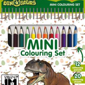 JIRI MODELS Set mini blok + pastelky Dinosauři