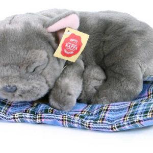 PLYŠ Pes francouzský buldoček 23cm ležící v pelíšku Eco-Friendly *PLYŠOVÉ HRAČKY*