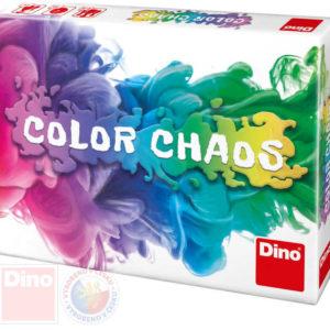 DINO Hra karetní Color Chaos cestovní *SPOLEČENSKÉ HRY*