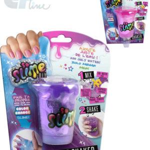 EP line Slime výroba slizu pro holky kreativní set shaker s glitry a figurkou mění barvu