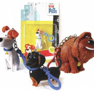 ADC Přívěsek na klíče figurka pejsek Tajný život mazlíčků různé druhy