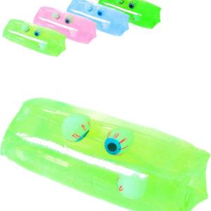 Had vodní s okem antistresová hračka žertovinka 4 barvy