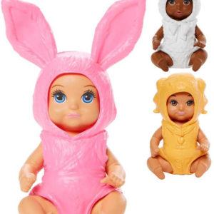 MATTEL BRB Barbie Panenka miminko v kostýmu zvířátko 3 druhy