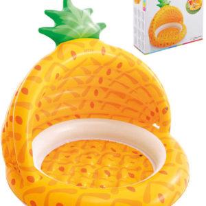 INTEX Baby bazén nafukovací se stříškou ananas 102x94cm 58414