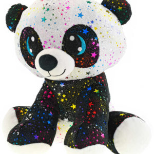 PLYŠ Medvídek Panda Rainbow Star Sparkle 24cm *PLYŠOVÉ HRAČKY*