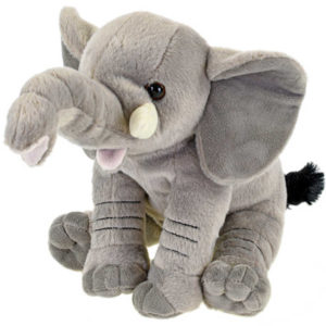 PLYŠ Slon sedící 26cm *PLYŠOVÉ HRAČKY*