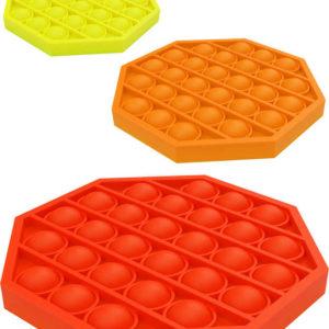 Hra antistresová Bubble Pops silikon 6 barev *SPOLEČENSKÉ HRY*
