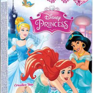 TyToo Dětské tetování Disney Princess 12 tetovaček pro holky se třpytkami