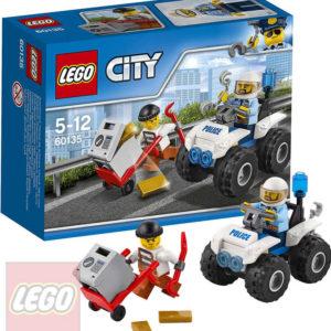 LEGO CITY Zatčení na čtyřkolce 60135 STAVEBNICE