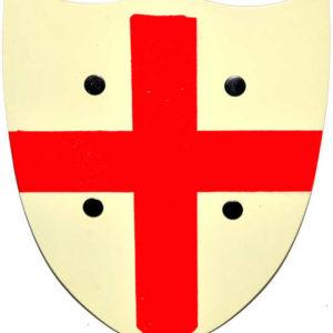 DŘEVO Štít červený kříž 30 x 25cm *DŘEVĚNÉ HRAČKY*