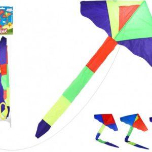 Drak nylonový létající 115x50cm rogalo 4 barvy