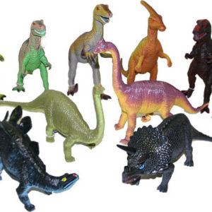 Dinosauři plast.25-35 cm 12ass