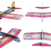 Letadlo házecí z polystyrenu
