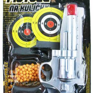 Pistole na kuličky KULIČKOVKA s terčem