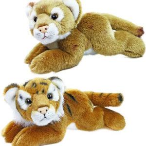 PLYŠ Tygr ležící 18cm exkluzivní kolekce 2 druhy *PLYŠOVÉ HRAČKY*