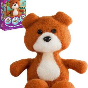 Výroba medvídka Fuzzeez kreativní set forma s textilní hmotou a doplňky