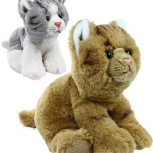 PLYŠ Kočka 22cm sedící exkluzivní kolekce 2 barvy *PLYŠOVÉ HRAČKY*
