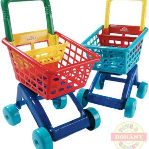 MAD Nákupní vozík na nákup košík plastový na kolečkách různé barvy