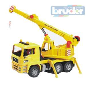 BRUDER 02754 (2754) Nákladní auto MAN - jeřáb stavební