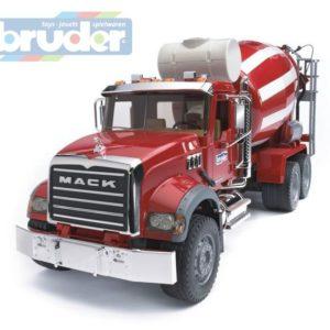 BRUDER 02814 (2814) Nákladní auto MACK Granit - domíchávač