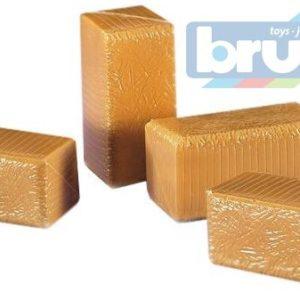 BRUDER 02342 (2342) Balíky slámy - hranaté 4 ks