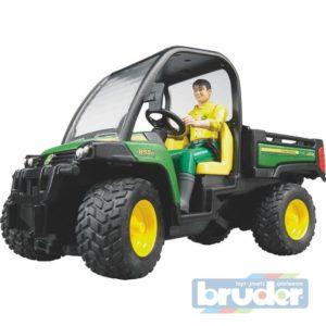 BRUDER 02490 (2490) John Deere Gator XUV 855D + figurka