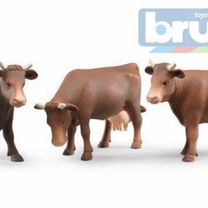 BRUDER 02308 (2308) Figurka kráva hnědá