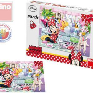 DINO Puzzle 300 dílků Pohoda u Minnie