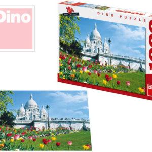 DINO Puzzle Sacre Coeur 1000 dílků v krabici 66x47cm