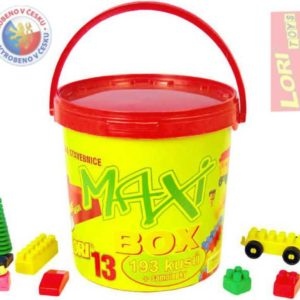 LORI 013 Stavebnice kbelík maxi 13