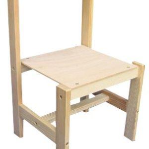 DŘEVO Židlička k tabuli FILIP dřevěná STOLIČKA dětská