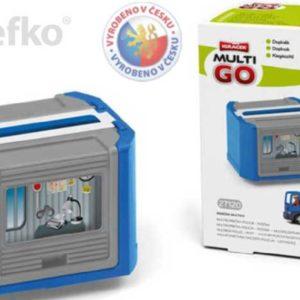EFKO IGRÁČEK MultiGO Multikorbička modrá set s doplňky v krabičce